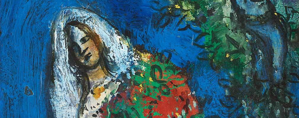 Latest news - LOVE SCENE BY MARC CHAGALL AT THE MODERN ART + DESIGN ...