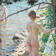 Rusning till konsten idag – Akvarell av Zorn såld för 13,7 miljoner  RUSNING TILL KONSTEN IDAG – AKVARELL AV ZORN SÅLD FÖR 13,7 MILJONER