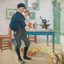 Sju miljonnoteringar idag – Efterfrågan på Carl Larsson och sagoklassiker
