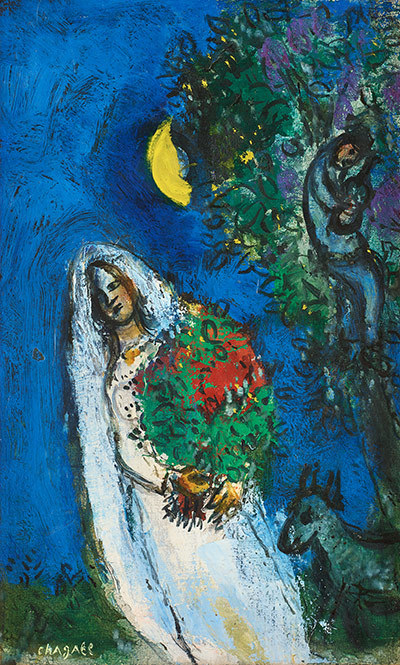 Latest news love scene by marc chagall at the modern art for Chagall mural chicago