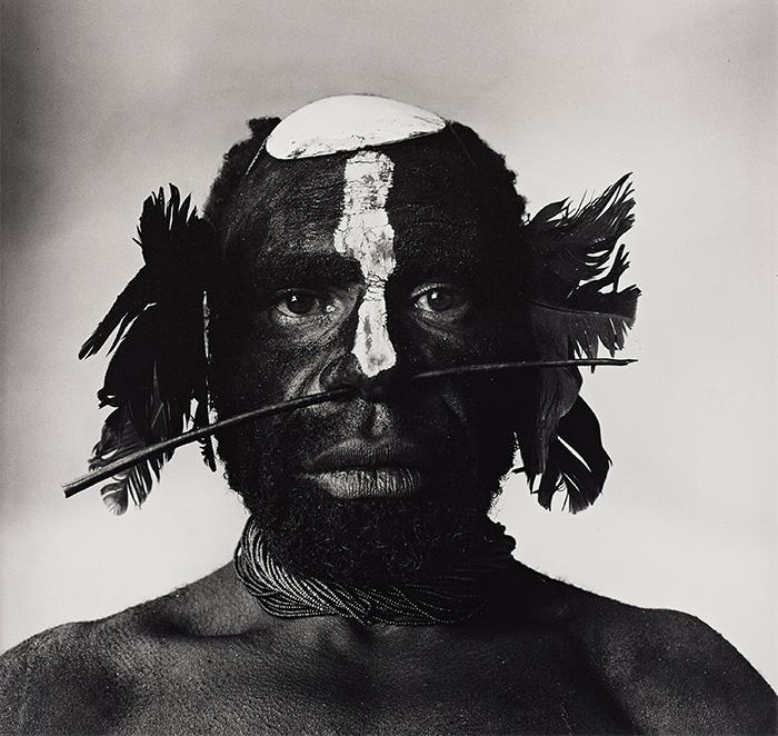 "Irving Penn ""Tribesman"""