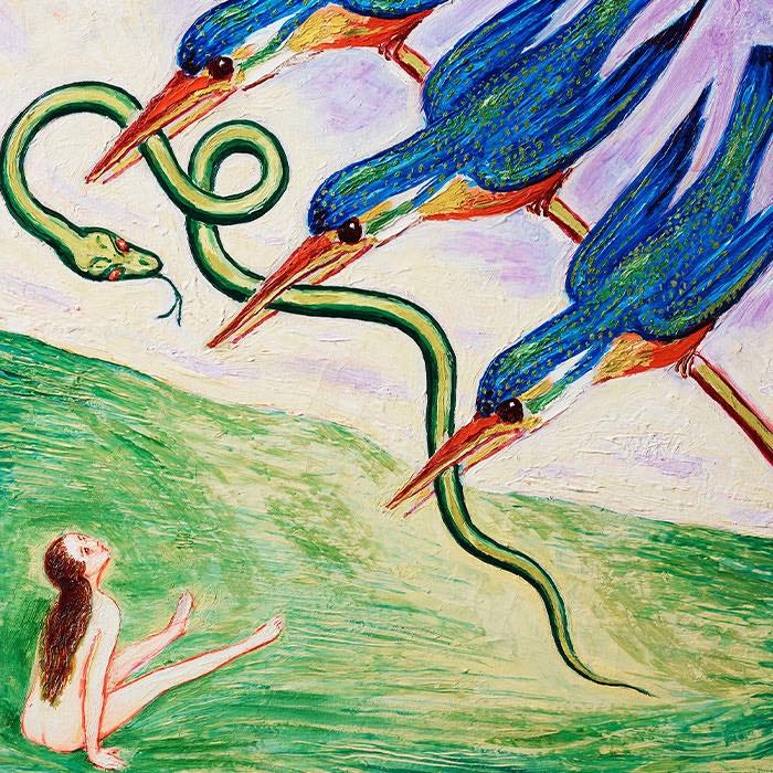 "Nils von Dardel, ""Den bortrövade ormen"" (detail)"