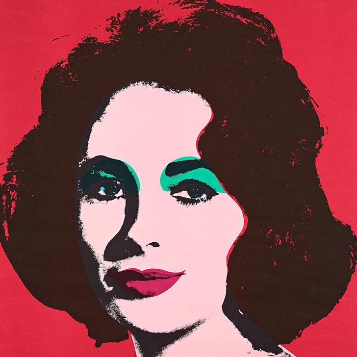 "Andy Warhol, ""Liz"""
