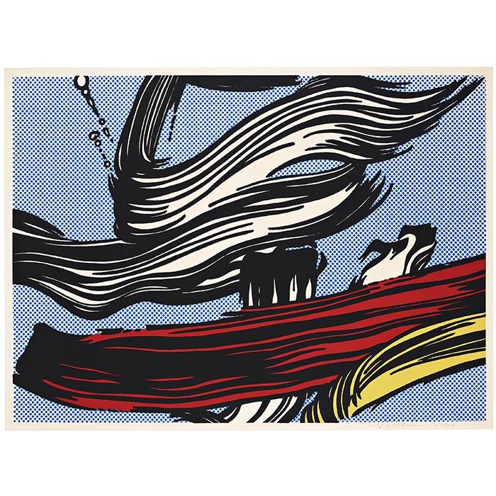 """Roy Lichtenstein, """"Brushstrokes"""", 1967"""
