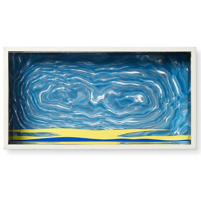"""Roy Lichtenstein, """"Seascape II"""", from Édition MAT 65, 1965"""