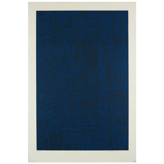 """Roy Lichtenstein, """"Cathedral #6"""", 1969"""