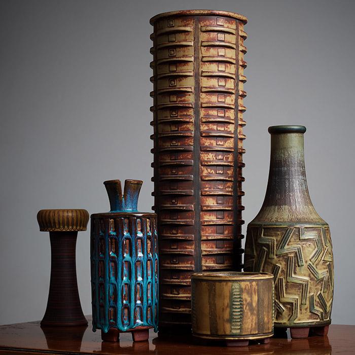 """""""Farsta"""" stoneware by Wilhelm Kåge"""