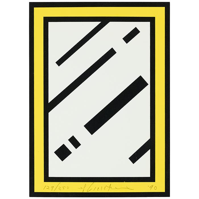 """Roy Lichtenstein, """"Mirror"""", 1990"""