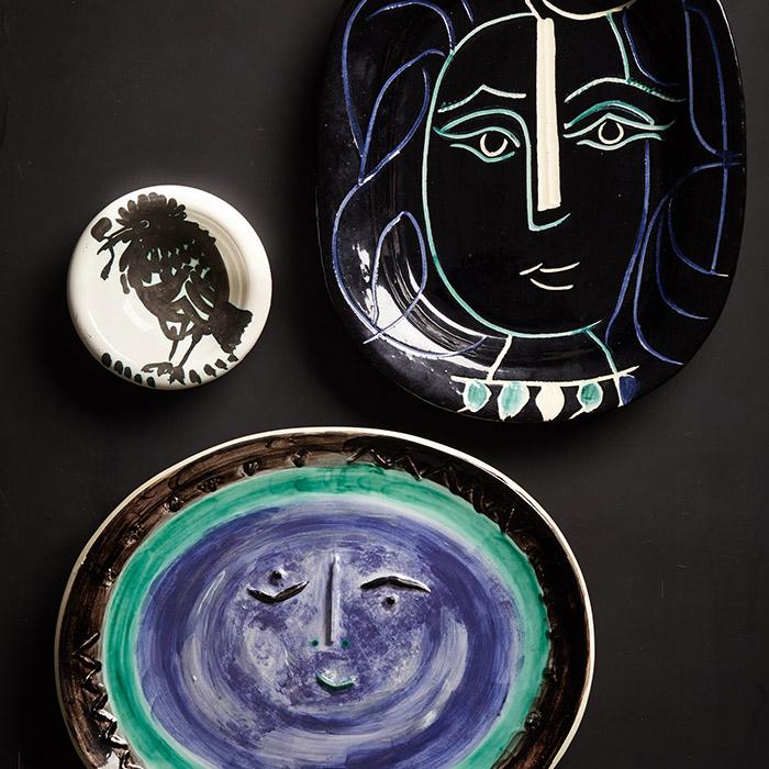 Exquisite ceramics by Picasso.