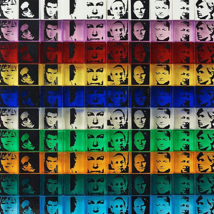 """Andy Warhol, """"Ten from Leo Castelli: Portrait of the artists"""""""