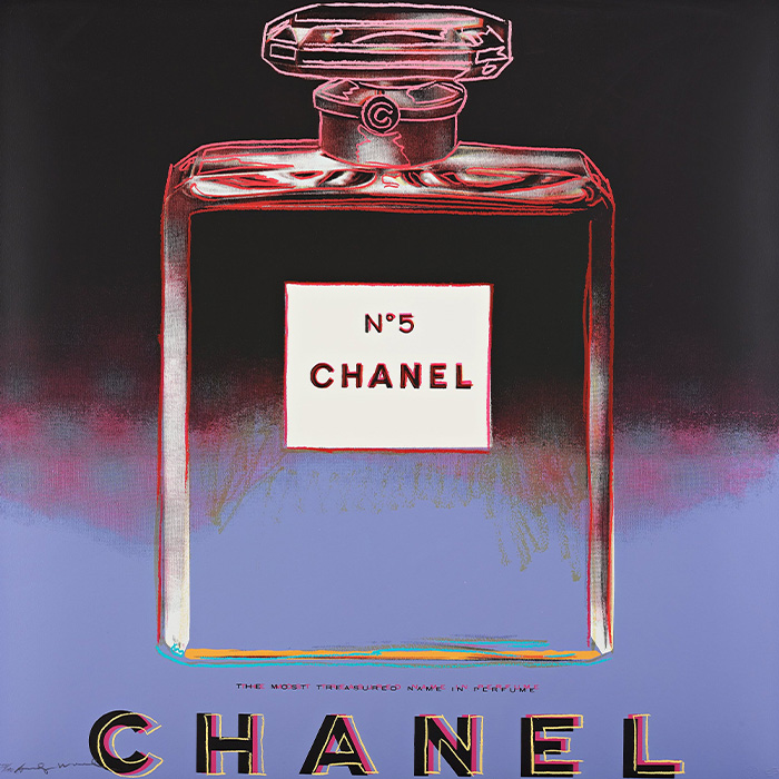 "Andy Warhol, ""Chanel"" from ""Ads"""