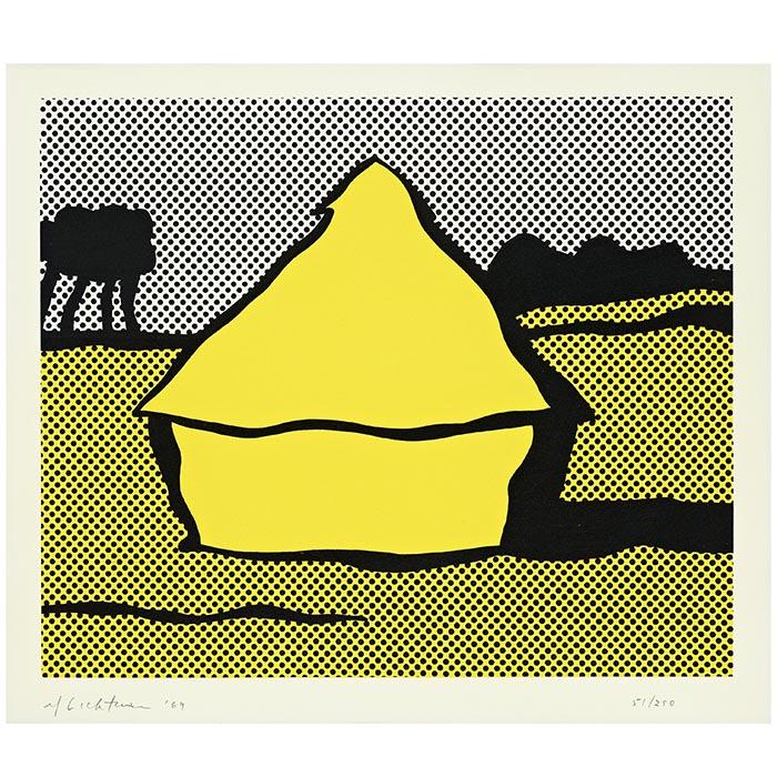 """Roy Lichtenstein, """"Yellow Haystack"""", 1969"""