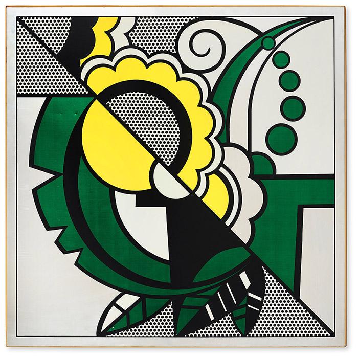 """Roy Lichtenstein, """"Still Life"""" from """"The Metropolitan Scene"""", 1968"""
