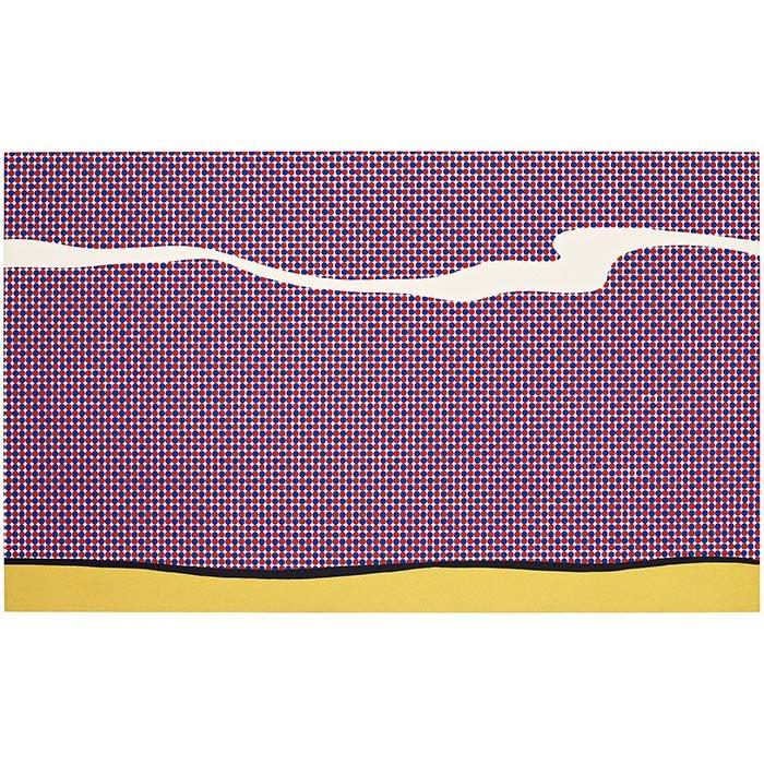 """Roy Lichtenstein, """"Landscape I"""" from """"Ten Landscapes"""""""