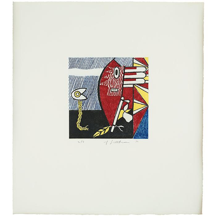 """Roy Lichtenstein, """"Untitled I"""", 1980"""