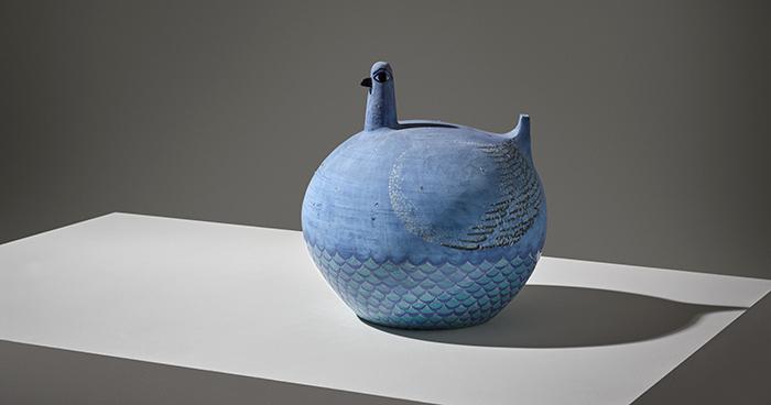 Birger Kaipiainen, ceramic sculpture.