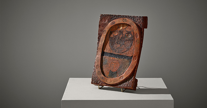 Oiva Toikka, ceramic sculpture