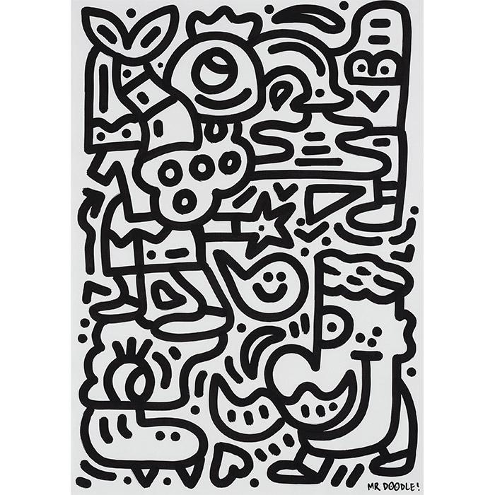 """Mr Doodle (Sam Cox), """"Palm Pals"""""""