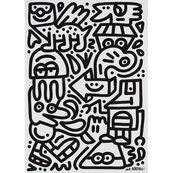 "Mr Doodle (Sam Cox), ""Real Robo"""