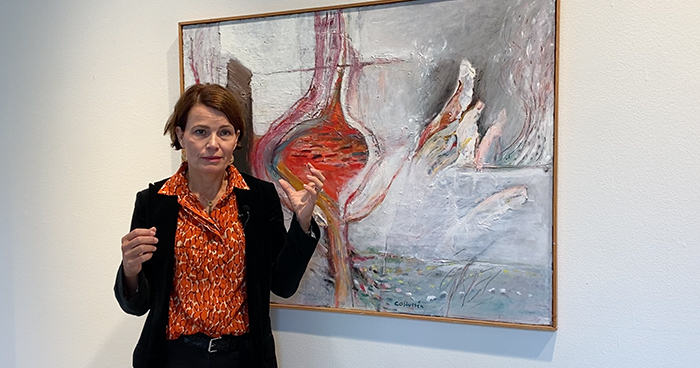 Interview with Lena Rydén, Expert modern art
