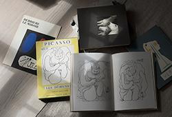 Moderna och samtida böcker om konst och teori E182