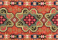 Folk art textiles E228