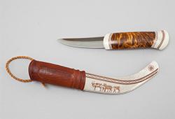 En samling samiskt hantverk – Duodji  E248