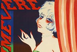 Vintage Posters E344