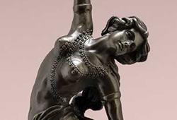 Skulpturer i brons E370