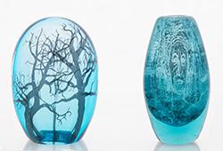 Narrative glass art by Ella Varvio E397