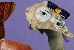 Ragnar von Holten - Surrealistiska målningar, collage och teckningar E451