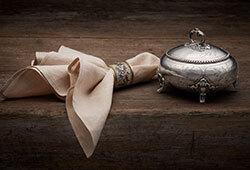 Ryskt silver & Preciosa E462
