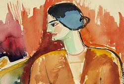 John Jon-And – färgstark modernist och briljant karikatyrist E544