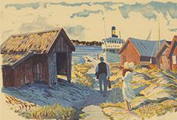 Roland Svensson – skärgårdsskildrare E551