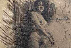 99 etchings by Zorn E625