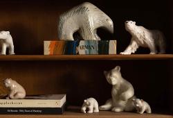 Tommy Körbergs collection of polar bears E651